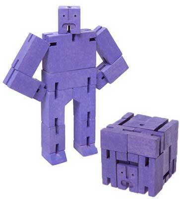 Micro Cubebot - Purple (Toy)