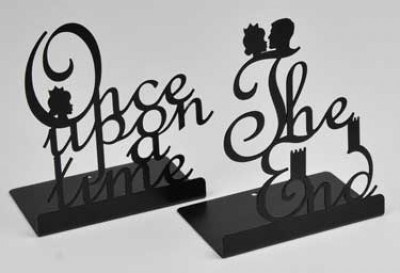 Once Upon a Time & The End Bookends BLACK (Other merchandise)