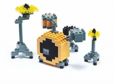 Nanoblock Musical Instruments - Drum Set (Toy)