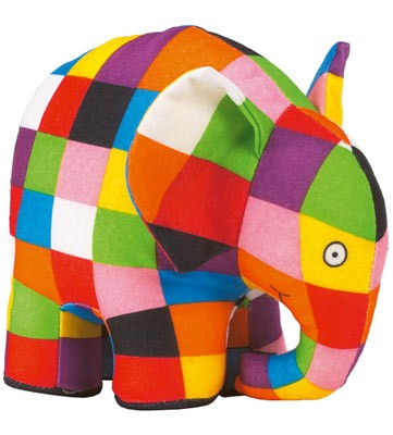 Elmer Plush Toy (Soft toy)