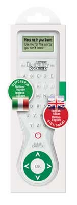 Electronic Dictionary Bookmark Bilingual - ITALIAN (Other merchandise)