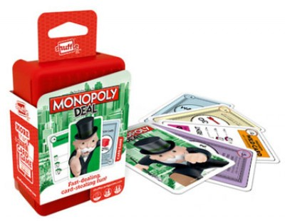 Monopoly -Shuffle Card Game