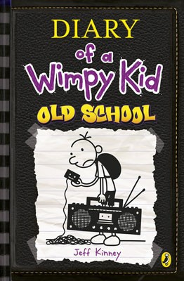 Cover Old School - Diary of a Wimpy Kid 10