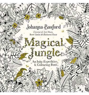 Cover Magical Jungle: An Inky Expedition & Colouring Book