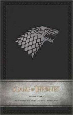 Game of Thrones Ruled Journal: House of Stark (Notebook / blank book)