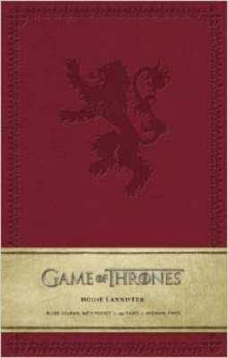 Game of Thrones Ruled Journal: House of Lannister (Notebook / blank book)