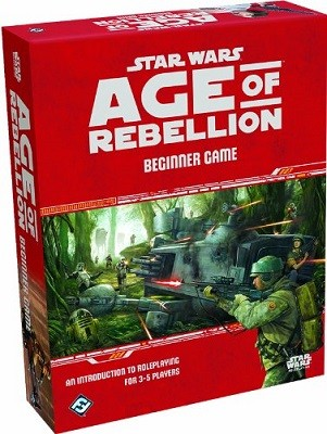 Star Wars: Age of Rebellion RPG Beginner Game (Game)