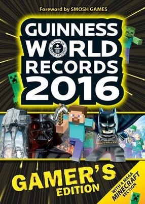 Cover Guinness World Records Gamer's Edition 2016