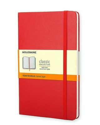 Moleskine Pocket Ruled Notebook Red - Moleskine Classic (Notebook / blank book)