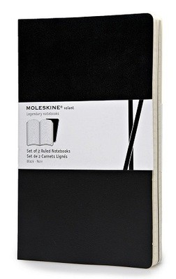 Moleskine Volant Large Ruled Black - Moleskine Volant (Notebook / blank book)