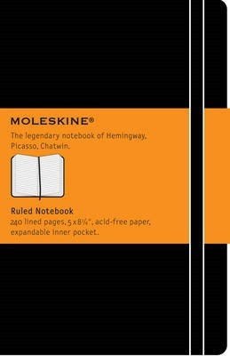 Moleskine Large Ruled Notebook (Notebook / blank book)