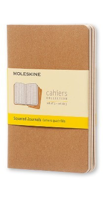 Moleskine Squared Cahier - Moleskine Cahier (Multiple copy pack)
