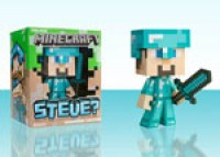 Diamond Steve Minecraft Figure