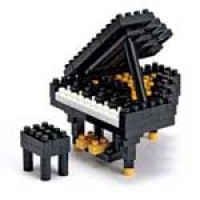 Nanoblock Musical Instruments - Grand Piano