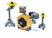 Nanoblock Musical Instruments - Drum Set