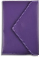 Purple Leather Envelope for Kindle, Kindle Paperwhite & Kindle Touch