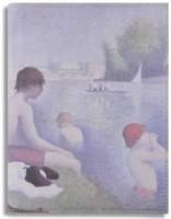 National Gallery 'Bathers' Cover for Kindle, Kindle Paperwhite & Kindle Touch (River)