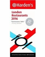 Harden's London Restaurants 2016