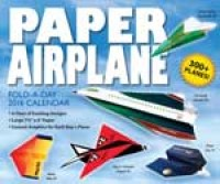 2016 Paper Airplane Fold-A-Day Boxed Calendar