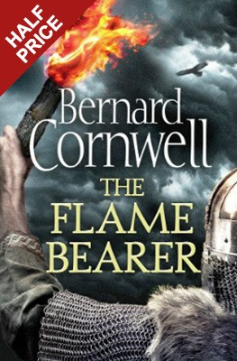 Cover The Flame Bearer  - The Last Kingdom Series Book 10 (Hardback)