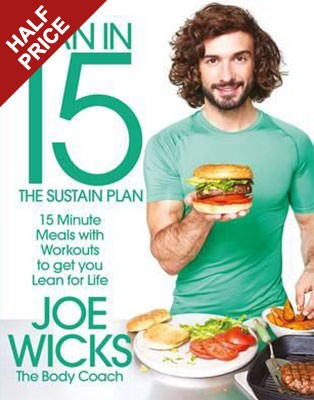 Cover Lean in 15: The Sustain Plan: 15 Minute Meals and Workouts to Get You Lean for Life