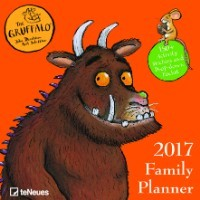 2017 Gruffalo Wall Family Planner