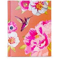 Orange flora notebook